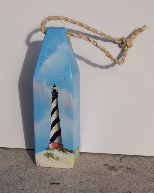 Painted Buoys by Florida Artist Gary Boswell