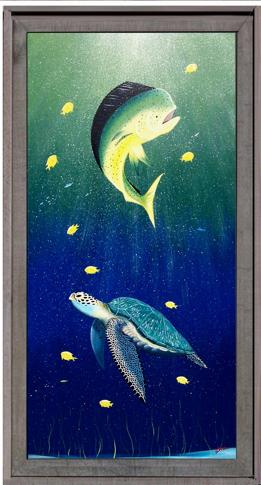 Original paintings by popular Florida artist Gary Boswell