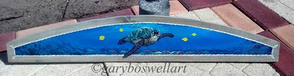 Originall paintings by Florida artist Gary Boswell